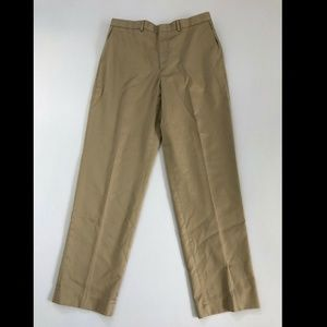Lands' End Men's Tan Slacks Size 35
